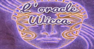 Le tirage de l'oracle wicca